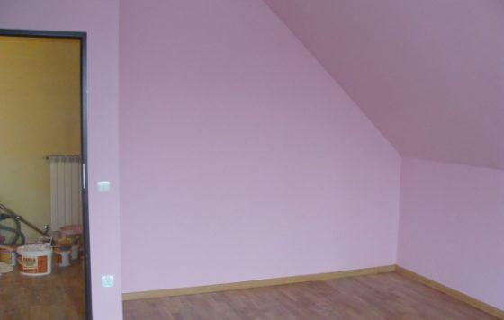 Wola Batorska - wykończenie wnętrz, ściany (2)